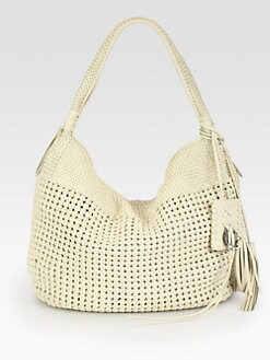 Ralph Lauren Collection - Woven Lace Hobo