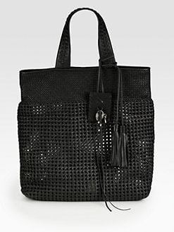 Ralph Lauren Collection - Woven Lace Tote