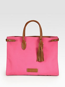 Ralph Lauren Collection - Canvas East West Tote