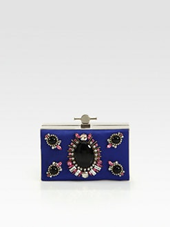 Jason Wu - Karlie Embellished Satin Box Clutch