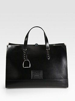 Ralph Lauren Collection - Equestrian Large Saddle Tote