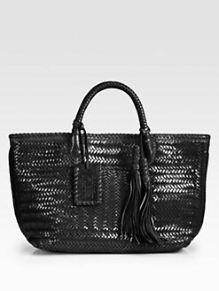 Ralph Lauren Collection - Herringbone Woven Tote