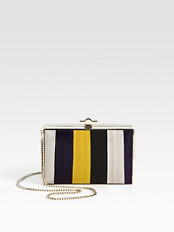 Jason Wu - Karlie Patchwork Box Clutch