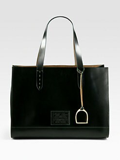 Ralph Lauren Collection - Equestrian Shoulder Tote
