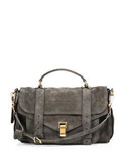 Proenza Schouler - PS1 Medium Suede Satchel
