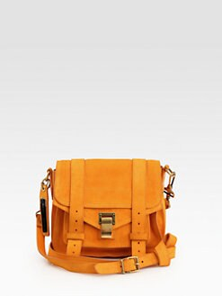 Proenza Schouler - PS1 Suede Pouch Crossbody Bag