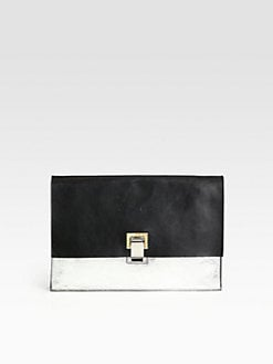 Proenza Schouler - Lunch Bag Small Colorblock Clutch