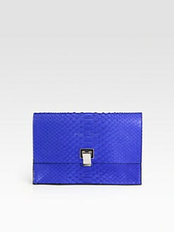 Proenza Schouler - Lunch Bag Small Python Clutch