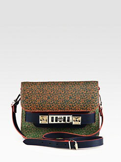 Proenza Schouler - PS11 Notebook-Print Mini Classic Shoulder Bag