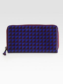 Proenza Schouler - Long Printed Zip-Around Wallet