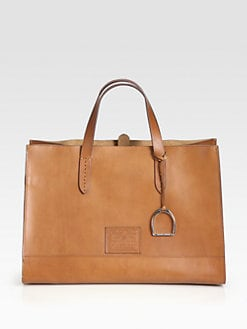 Ralph Lauren Collection - RL Equestrian Large Tote