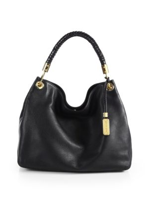 michael kors collection female skorpios large hobo bag