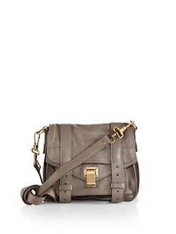 Proenza Schouler - PS1 Pouch Leather Crossbody Bag