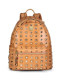 MCM - Studded Stark Backpack