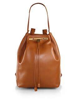 The Row - Convertible Hobo Backpack/Smooth Leather