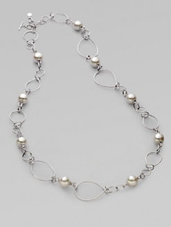 Majorica - 16MM Pearl & Sterling Silver Necklace/36