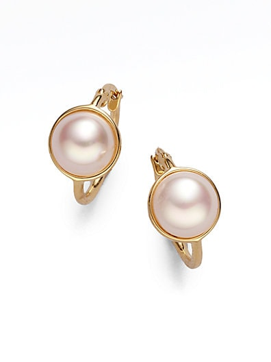 10MM Mabe Pearl Earrings