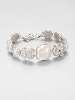 Majorica - 10MM and 18MM Mab&#233; Pearl Sparkle Bracelet