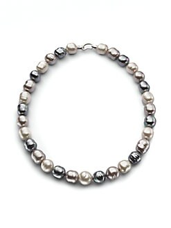 Majorica - 14MM Multicolor Baroque Pearl Necklace/20
