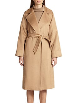 Max Mara - Manuel Camel Hair Wrap Coat