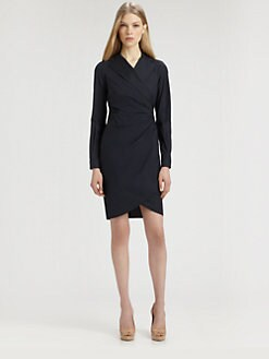 MaxMara - Fragola Wrap Shirtdress