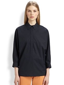 MaxMara - Poplin Song Blouse