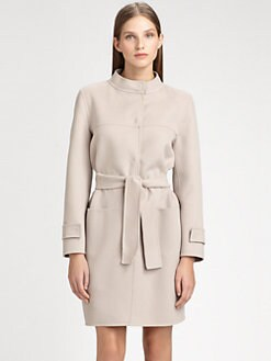 MaxMara - Angora-Blend Coat