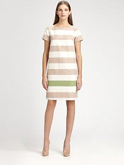 MaxMara - Striped Shift Dress
