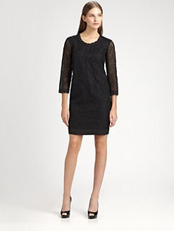 MaxMara - Eger Embroidered Tunic Dress