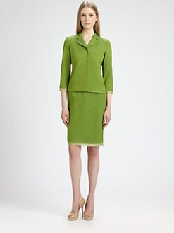 MaxMara - Orche Organza-Trimmed Jacket