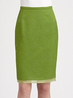 MaxMara - Orologi Pencil Skirt