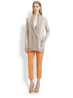 MaxMara - Striped Taddeo Cardigan