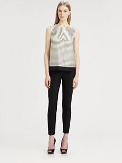 MaxMara - Canditi Striped Shell