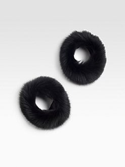 MaxMara - Fox Fur Cuffs