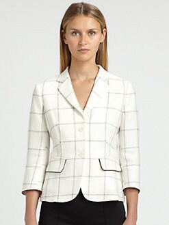 MaxMara - Renza Check Jacket