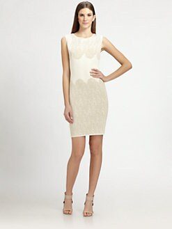 MaxMara - Jacquard Knit Dress