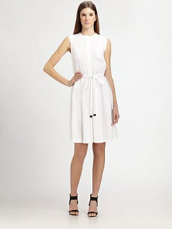 MaxMara - Cotton Sleeveless Shirtdress
