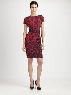 MaxMara - Ruched Jersey Dress