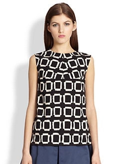 MaxMara - Geometric Top