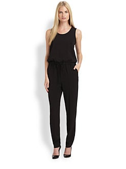 MaxMara - Drawstring Jumpsuit