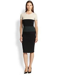 Max Mara - Tago Colorblock Jersey Dress