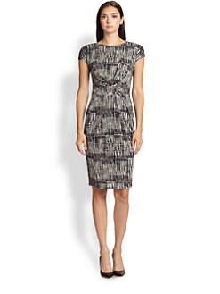 Max Mara - Memo Printed Jersey Dress