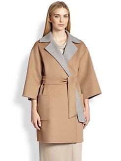 Max Mara - Reversible Wrap Coat