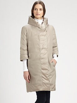 MaxMara - Novef Long Quilted Coat