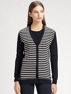 MaxMara - Tropea Striped Cardigan