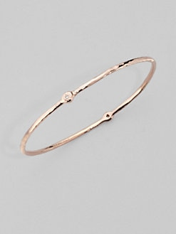 IPPOLITA - Rose 2-Diamond Bangle Bracelet