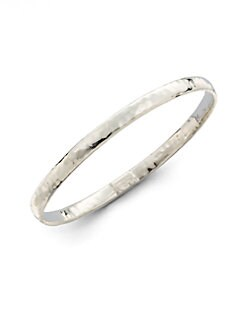 IPPOLITA - Hammered Sterling Silver Bangle