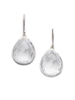 IPPOLITA - Clear Quartz & Sterling Silver Earrings