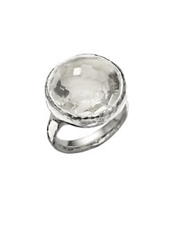 IPPOLITA - Clear Quartz & Sterling Silver Ring