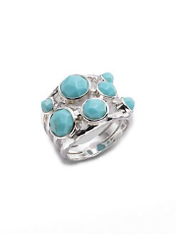IPPOLITA - Turquoise & Sterling Silver Constellation Ring